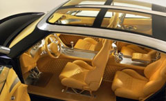 picture of the spyker D12 interior