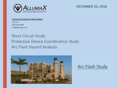 arc-flash-study-report