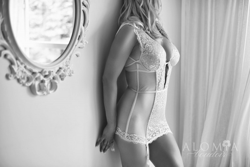 Bridal Boudoir with Stunning Miss C