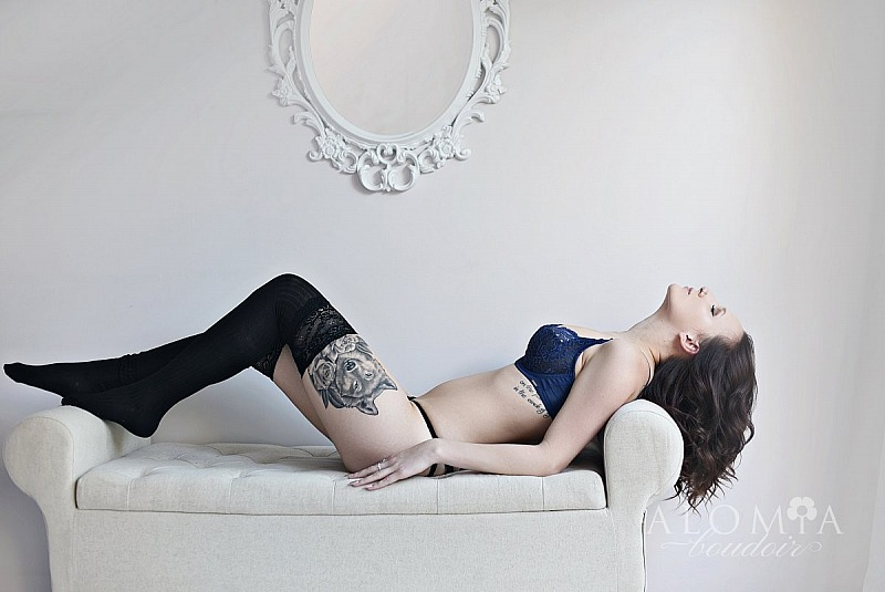 Boudoir Shoot with Stunning Miss J