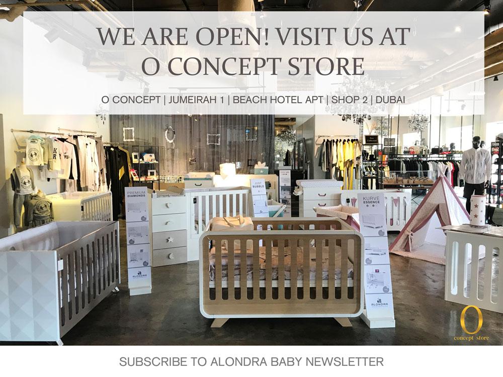 Alondra - Modern design baby furniture & decor made in Spain