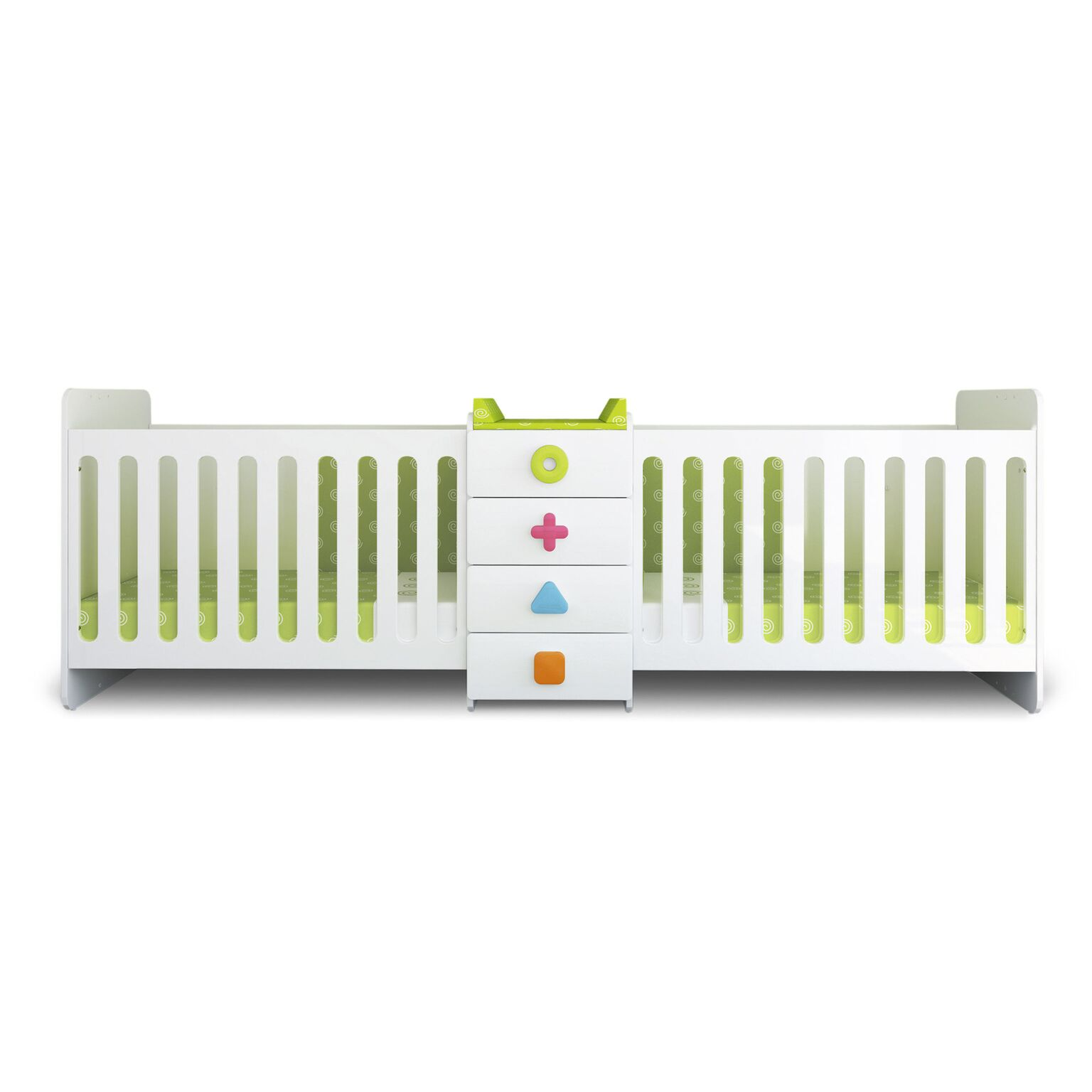 crib and in amazon bed kalani mini twins baby for davinci oak finish pine honey twin dp com