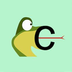 Russian alphabet letter s
