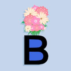 Russian alphabet letter v