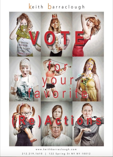 VOTE for Your  Favorite RedHead Portrait