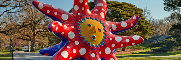 Kusama Story Time and Cosmic Nature at NYBG