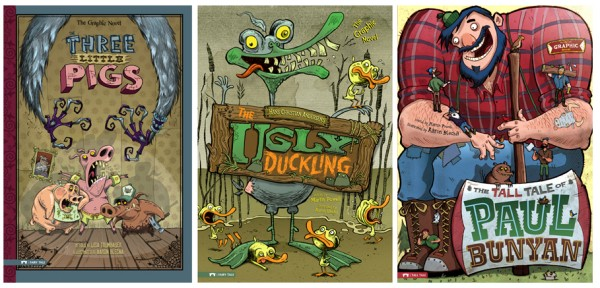 Aaron Blecha Illustrates The Tall Tales of Paul Bunyan Graphic Novel!
