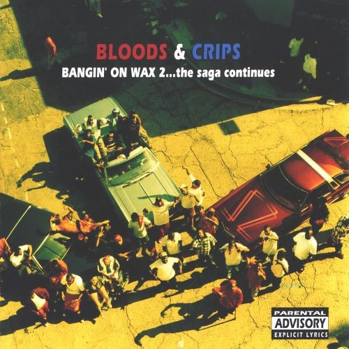 Cliff Badowski's Album Covers for the Bloods & Crips