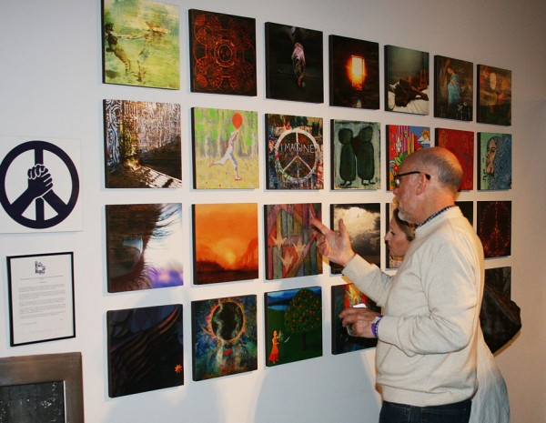 Art Stimulus Show opened at Gallery 9 in Culver City