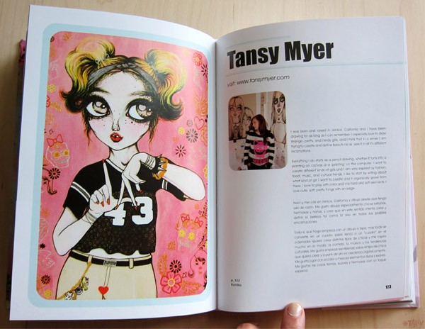 "Tansy Myer's ""Cute Illustration"" Book"