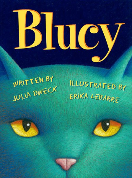 Erika LeBarre's Mischievous Blue Cat