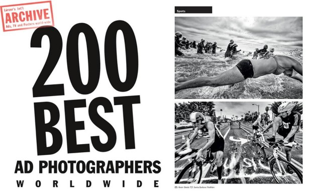 "Kevin Steele One of Archive's ""200 Best Ad Photographers Worldwide"