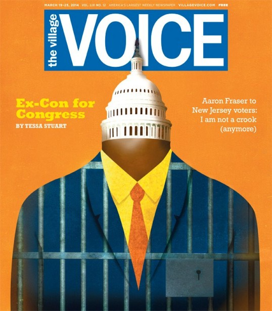 Ellen Weinstein Covers This Week's Village Voice