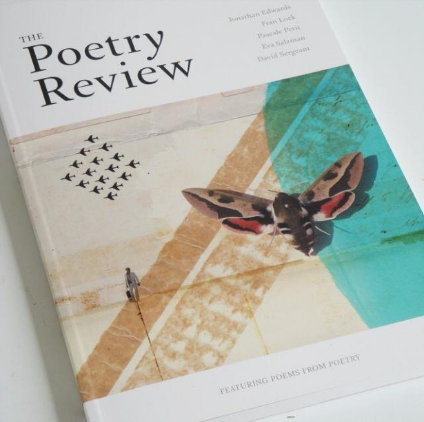 Sarah Hanson's cover illustration for The Poetry Society's Poetry Review