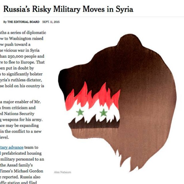 Altpick com : News : Nabaum's Op-ed Illustrations For The New York Times