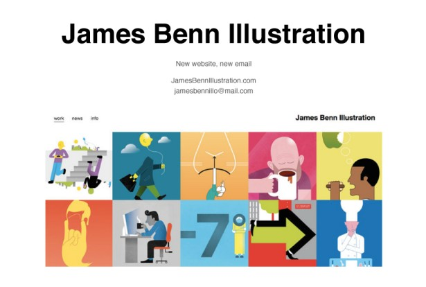 James Benn Launches New Website!