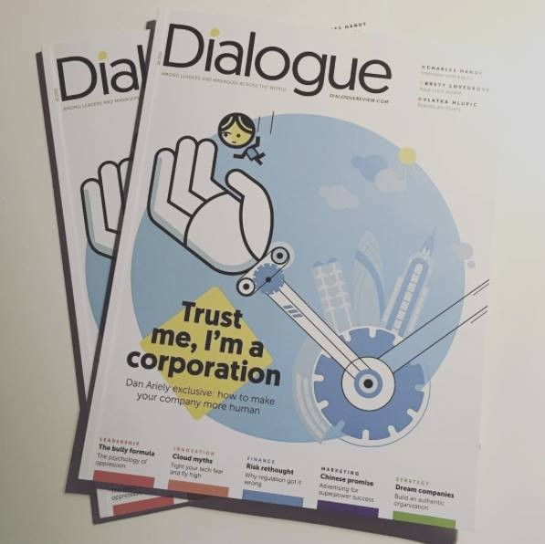 Petra Stefankova Illustrates For Dialogue Review