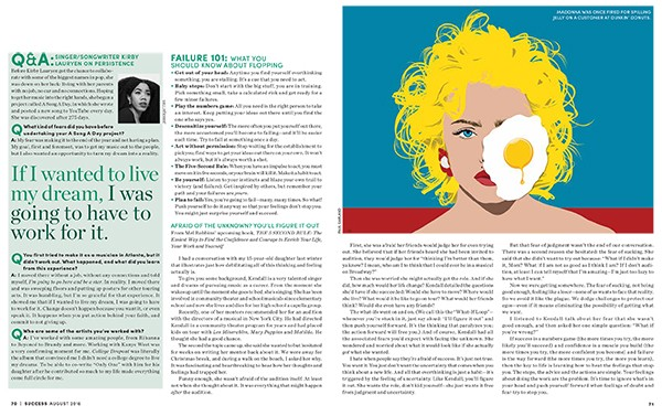 "Paul Garland's ""Egg on Your Face"" for Success Magazine"