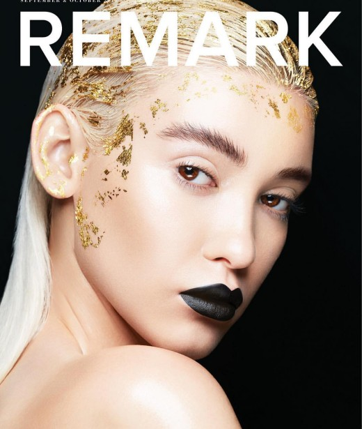 Thies Shoots Up-and-coming Model For REMARK Magazine