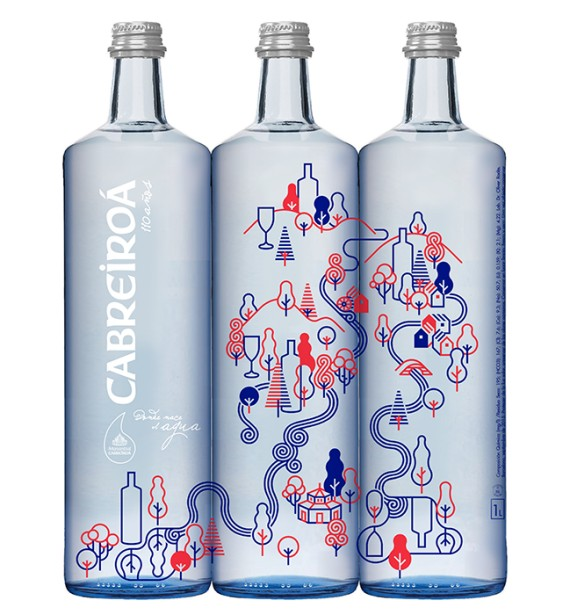 Carlos Arrojo Creates Limited Edition Bottles For Water Brand's 110th Anniversary