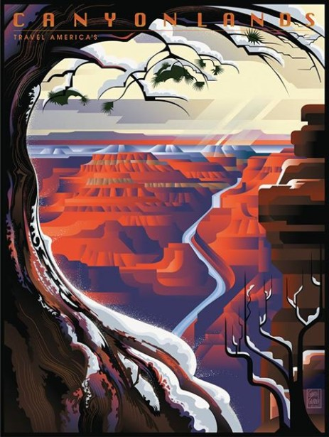 Garth Glazier's Grand Canyon Winter