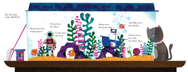 Austin Illustrates Children's Book About Five Fish Friends