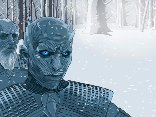 Williams Illustrates White Walkers for 1843 Magazine