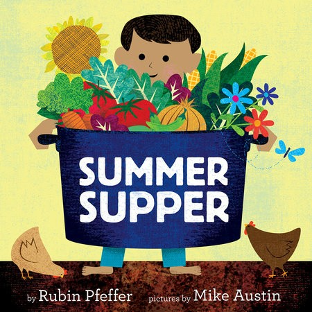 A starred review for SUMMER SUPPER from BookList