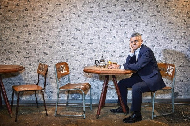 Wilson Photographs London Mayor Sadiq Khan for The Sunday Times