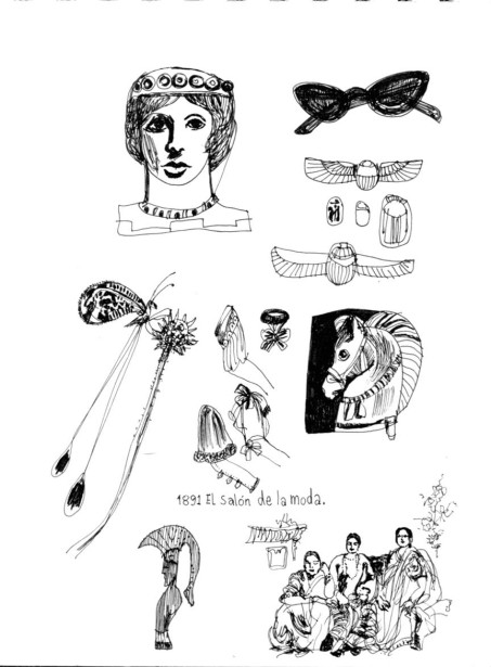 Peled Shares Observations and Doodles from Recent Sketchbook