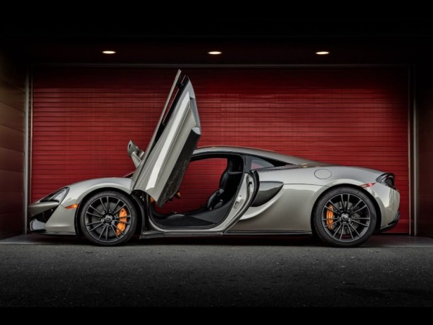 Watson Shoots McLaren's for Californian Driving Center
