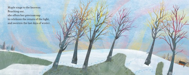 "Jing Jing Illustrates ""Trees"" Poem Collection"