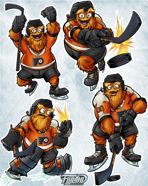 Philadelphia Flyers Official Mascot Design
