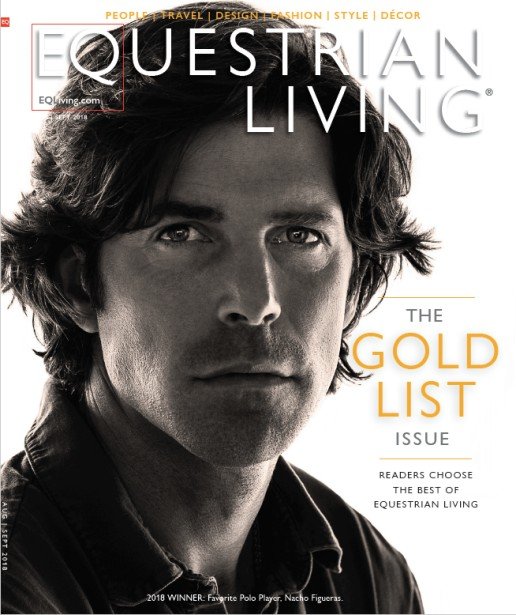"George Kamper Shoots Cover for EQ Living's ""Gold List Issue"""