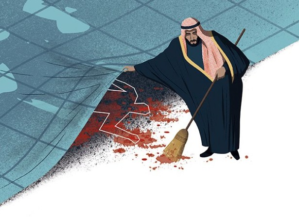 Bonazzi Illustrates Die Zeit Article On Saudi/Russia Parallels