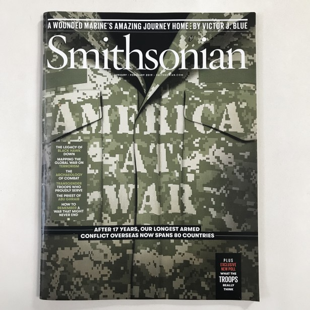 Jon Kraus's Cover Illo for Smithsonian