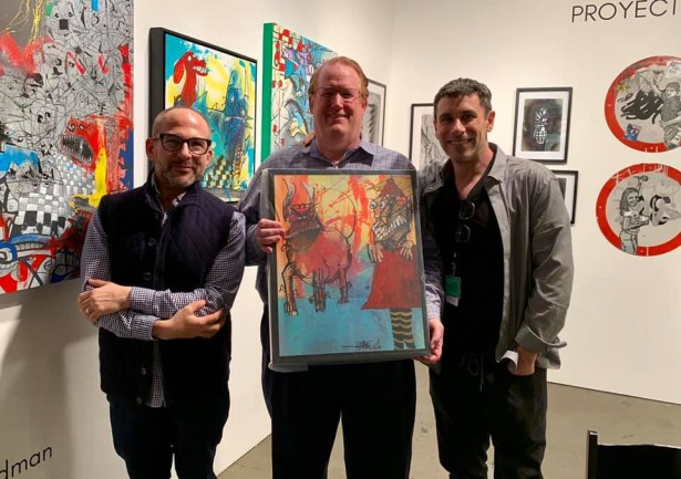 Joey Feldman Exhibits At LA Art Show