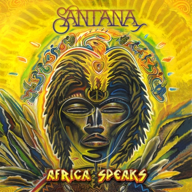 "Rudy Gutierrez's Art Featured on Santana's ""Los Invisibles"" Single, Video and Merchandise"