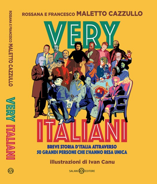 """Very Italian"" illustrated by Ivan Canu"