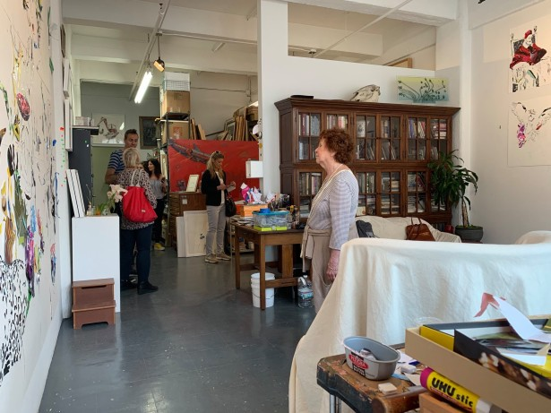 "Cocotos Shares Images From ""Artists Open Studios"" Show"