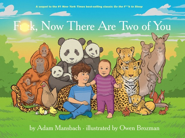 "Owen Brozman's Second Book: ""F*ck Now There Are Two of You""!"