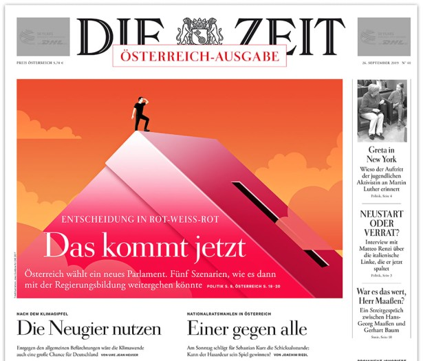 Illustrator Joey Guidone for Die Zeit Austria