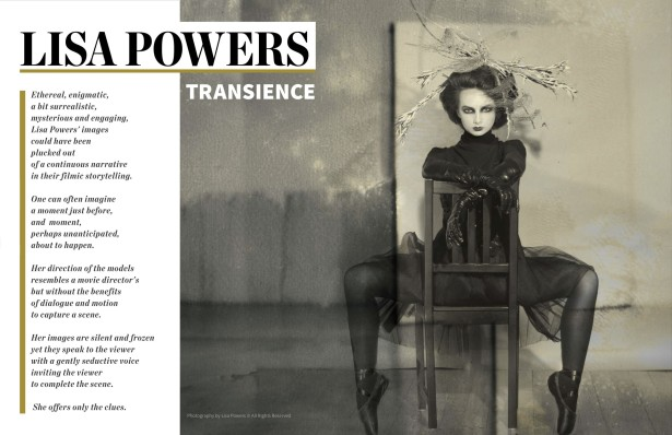 Lisa Powers in LENS Magazine #62