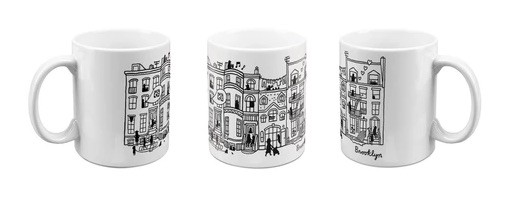 Aaron Meshon Designs Mug for The Brooklyn Museum
