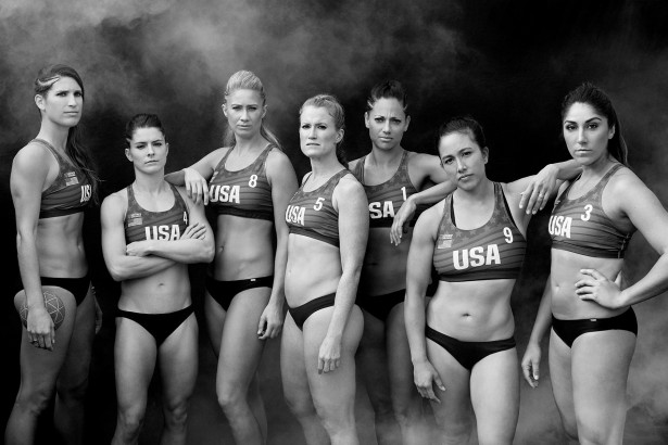 Council's USA Women's Beach Handball Team Photo Series