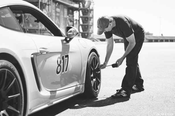 Day At The Office With A Porsche Cayman 718 S | Apex Wheels