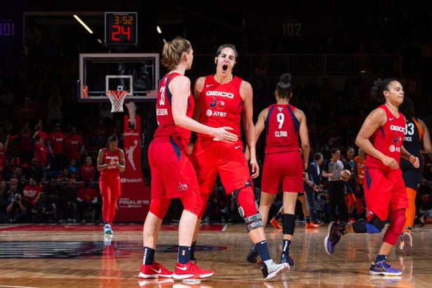 Photographing the WNBA Champions Washington Mystics