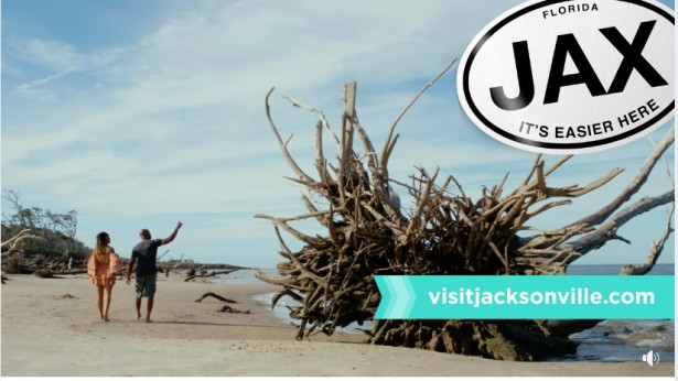 "Ryan Ketterman Contributes Footage for ""Visit Jacksonville"" Spot"