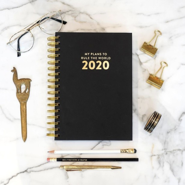 Rule the World Next Year With Ilana Griffo's Newest Planner