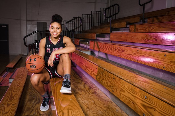 Stephen Gosling Photographs Best Female HS Point Guard in the Country